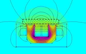 Field lines surface demagnetizer