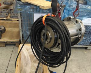 Demagnetization cable