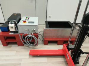 demagnetizing equipment