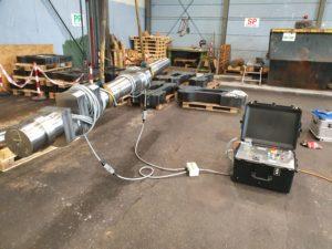 Demagnetization of a crankshaft