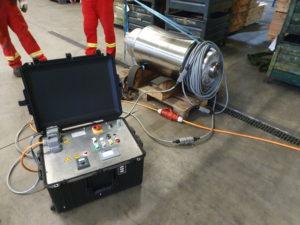 Demagnetization of steel rolls
